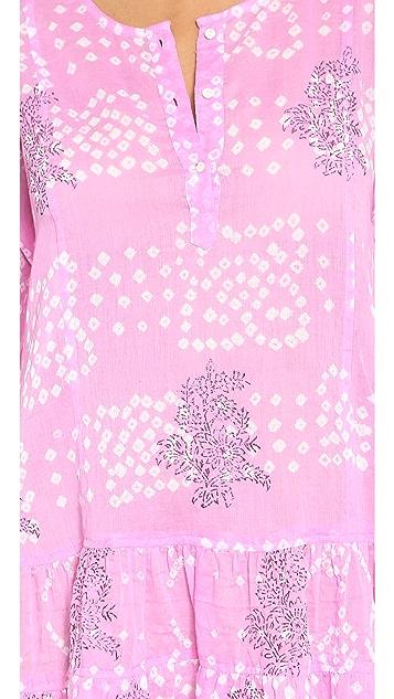Juliet Dunn Long Sleeve Beach Dress