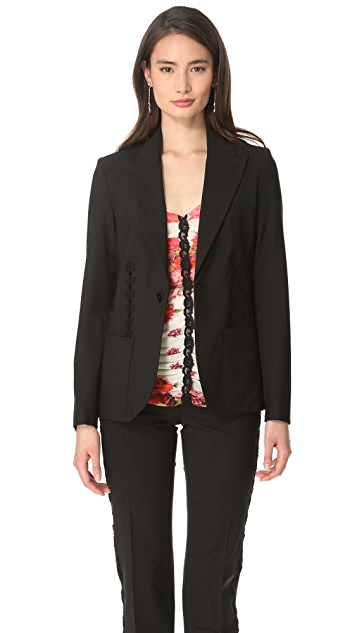 Jean Paul Gaultier Lace Stripe Jacket