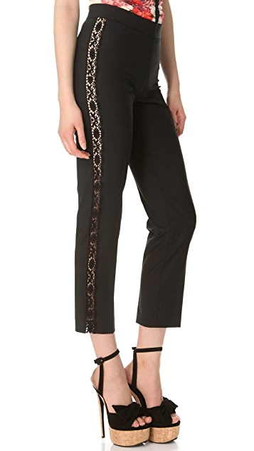 Jean Paul Gaultier Lace Stripe Pants