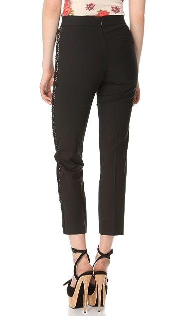 Jean Paul Gaultier Lace Stripe Pants