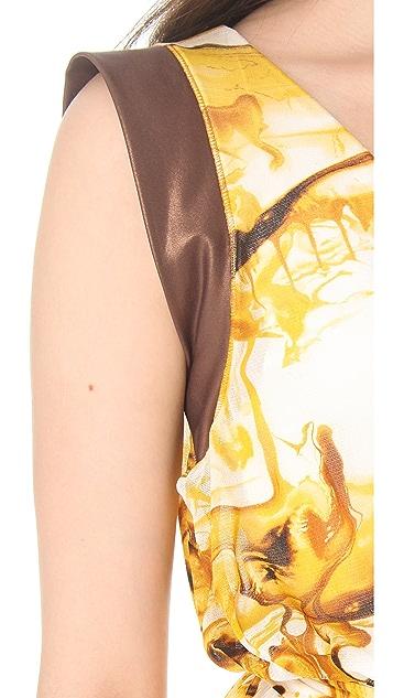Jean Paul Gaultier Cinched Waist Dress