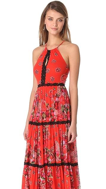 Jean Paul Gaultier Halter Maxi Dress