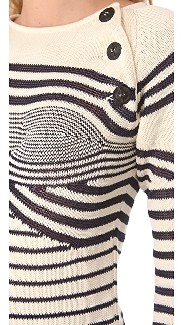 Jean Paul Gaultier Sweater with Bustier Cups