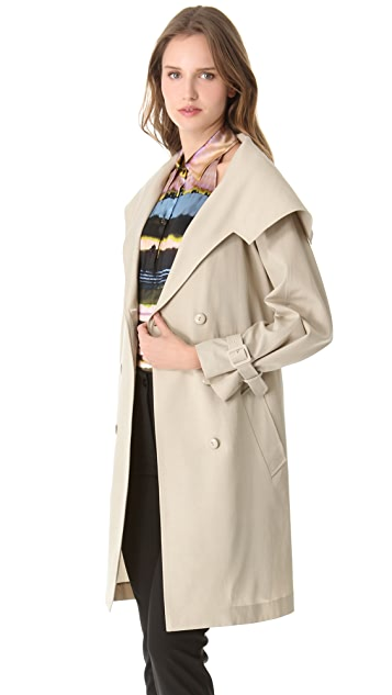 Jean Paul Gaultier Beige Trench Coat