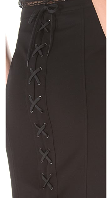 Jean Paul Gaultier Lace Up Skirt
