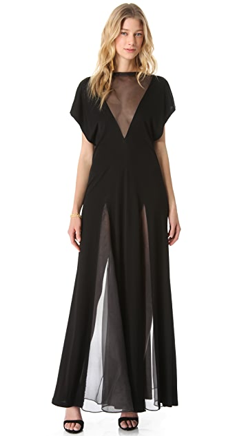 Jean Paul Gaultier Short Sleeve Gown