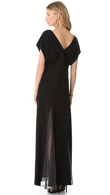 Jean Paul Gaultier Short Sleeve Gown