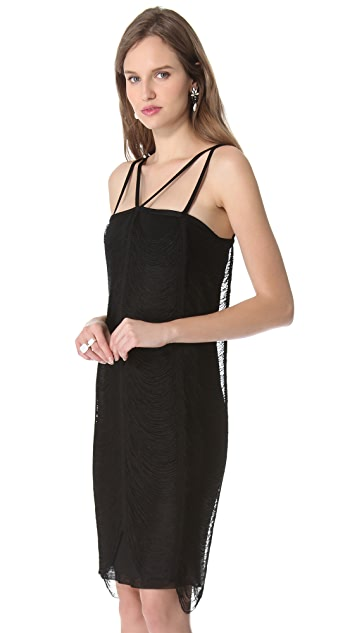 Jean Paul Gaultier Cutout Strap Dress