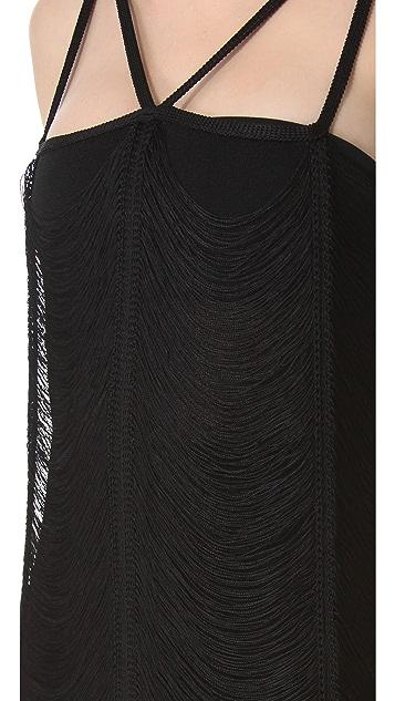 Jean Paul Gaultier Cutout Strap Dress