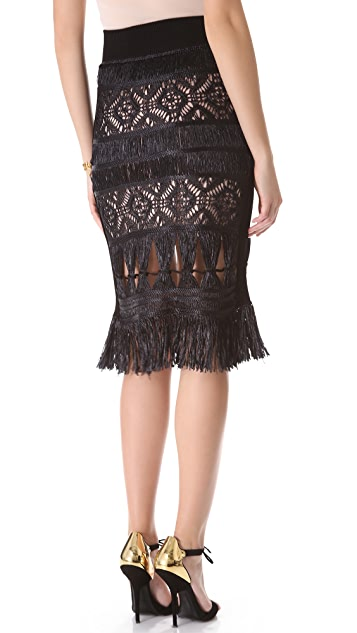 Jean Paul Gaultier Crochet Skirt