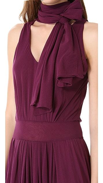 Jean Paul Gaultier Neck Tie Maxi Dress