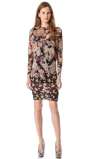 Jean Paul Gaultier Print Sweater Dress