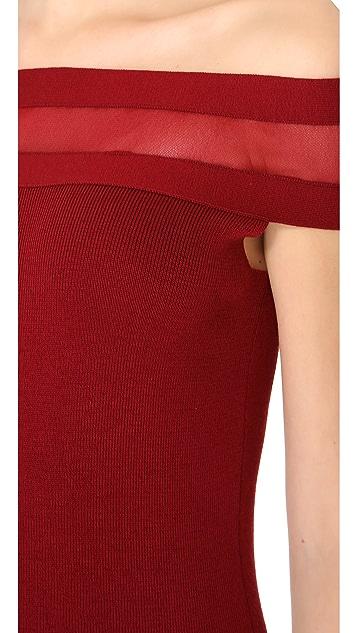Jean Paul Gaultier Mesh Strap Mini Dress