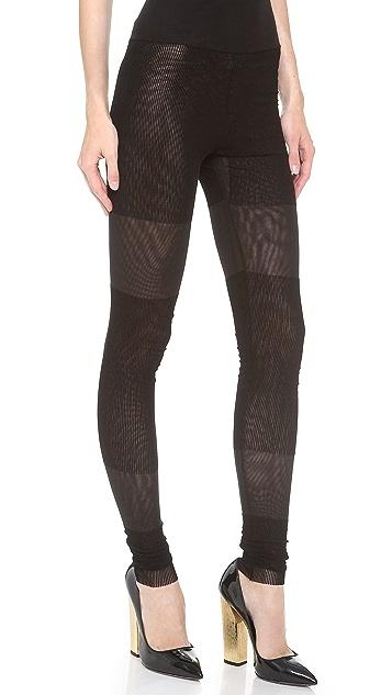 Jean Paul Gaultier Knit Leggings