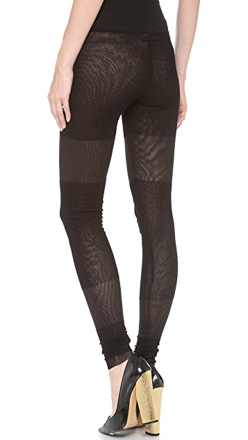 Jean Paul Gaultier Knit Leggings