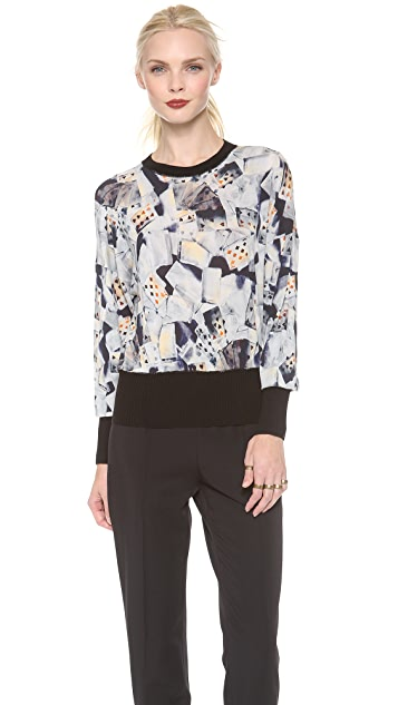 Jean Paul Gaultier Printed Top