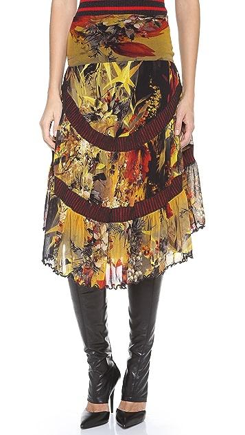 Jean Paul Gaultier Printed Skirt