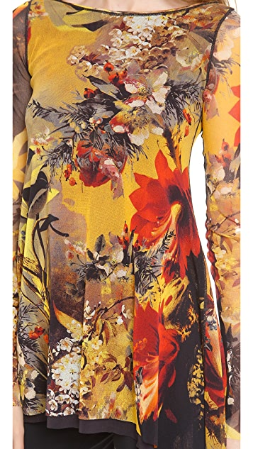 Jean Paul Gaultier Printed Tunic