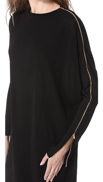 Jean Paul Gaultier Long Sleeve Jersey Dress