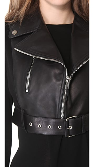 Jean Paul Gaultier Leather Vest