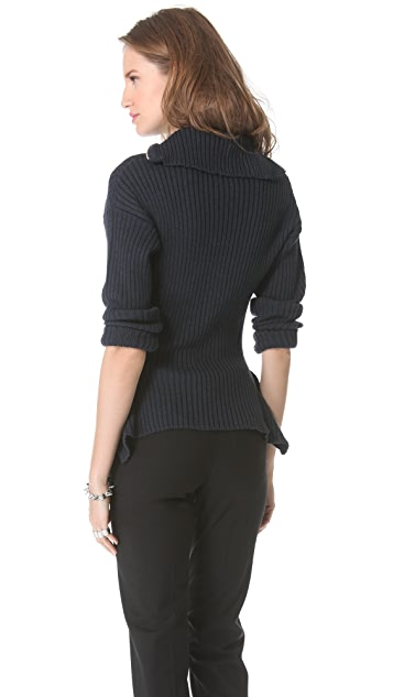 Jean Paul Gaultier Turtleneck Zip Sweater