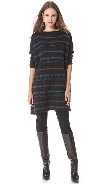 Jean Paul Gaultier Striped Tunic Sweater