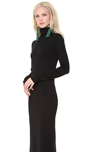 Jean Paul Gaultier Turtleneck Sweater Dress