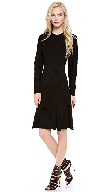 Jean Paul Gaultier Long Sleeve Hooded Dress