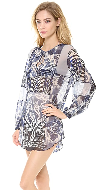 Jean Paul Gaultier Printed Tunic Dress