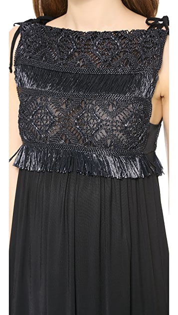 Jean Paul Gaultier Raffia Dress