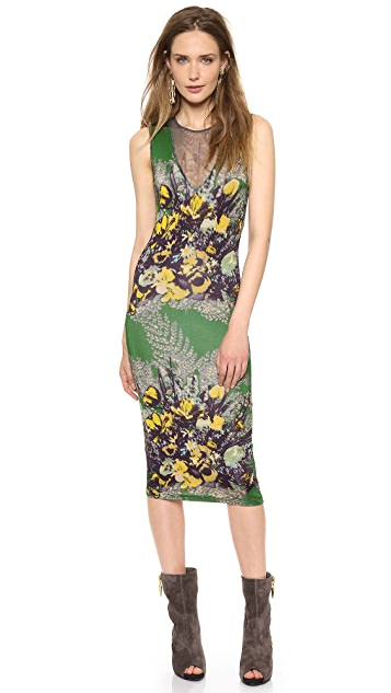 Jean Paul Gaultier Sleeveless Printed Dress