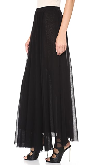 Jean Paul Gaultier Pleated Maxi Skirt