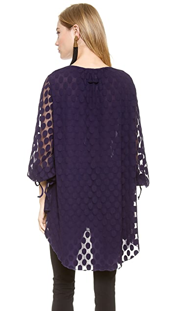 Jean Paul Gaultier Long Sleeve Tunic Top