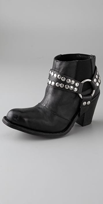 Jeffrey Campbell Nation Booties with Detachable Harness