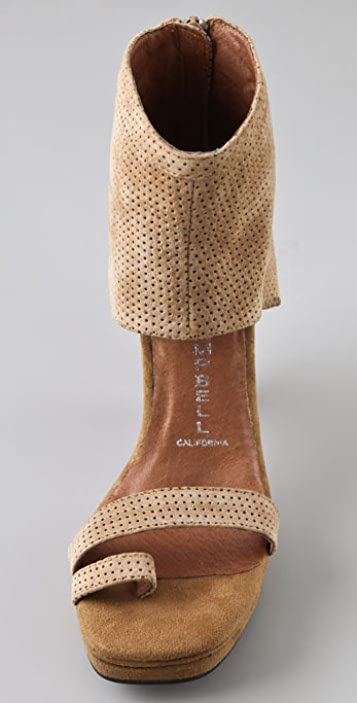 Jeffrey Campbell Zing Punch Platform Sandals