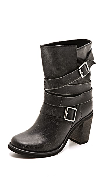 Jeffrey Campbell France Wrap Strap Boots