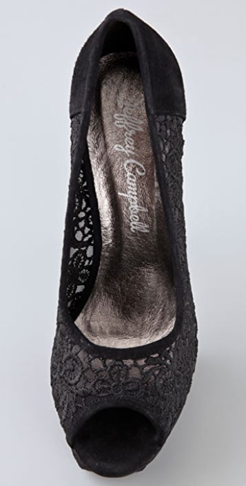 Jeffrey Campbell Tabitha Lace Platform Pumps