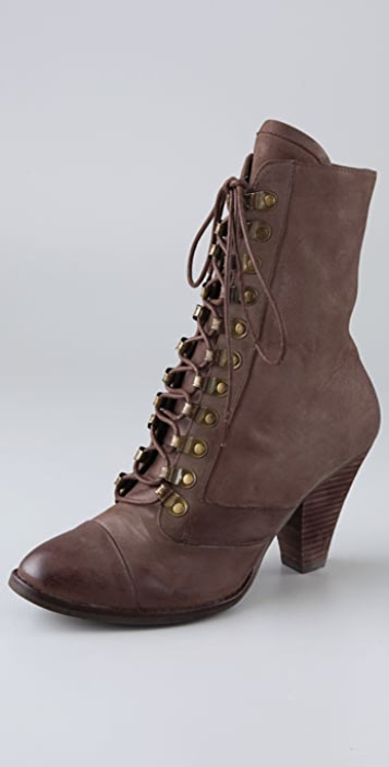 Jeffrey Campbell Postcard Granny Booties