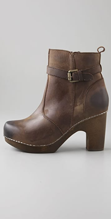 Jeffrey Campbell Lief Clog Booties