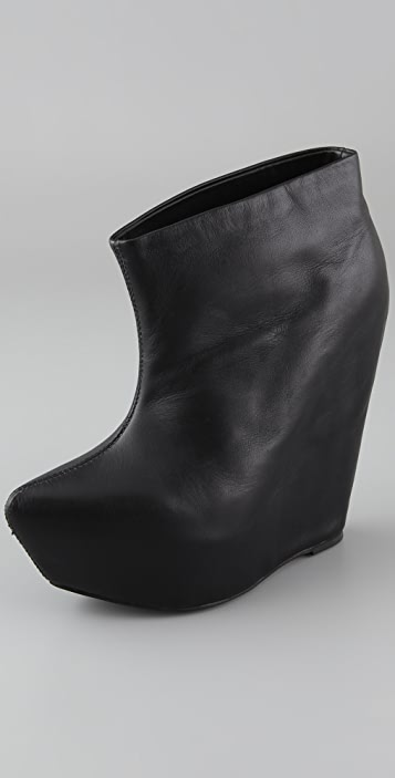 Jeffrey Campbell Zorey Platform Wedge Booties