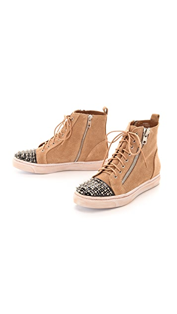 Jeffrey Campbell Adams Studded Sneakers