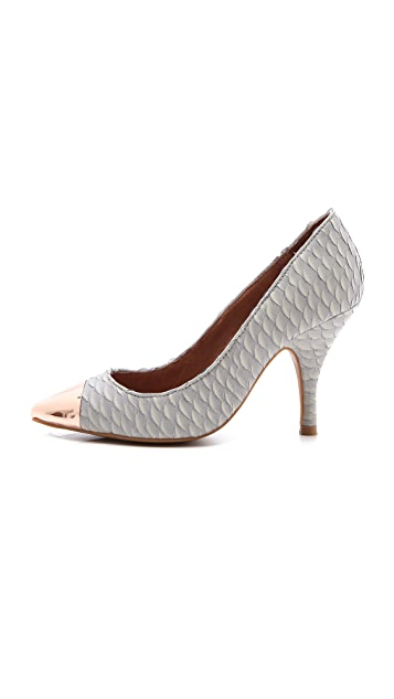 Jeffrey Campbell Flava Cap Toe Pumps