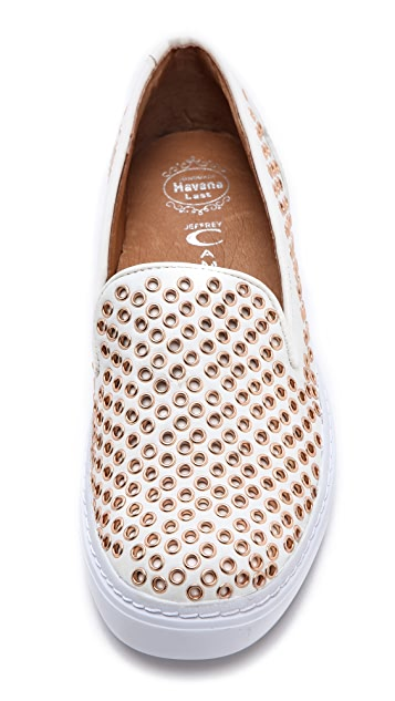 Jeffrey Campbell Hawk Eyelet Sneakers