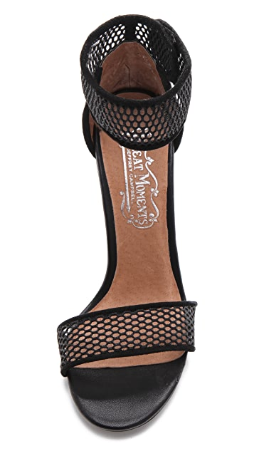 Jeffrey Campbell Hough Mesh Sandals