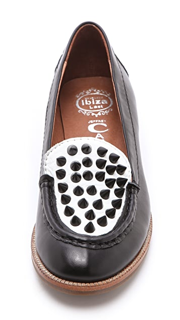 Jeffrey Campbell Pupil Stud Loafers