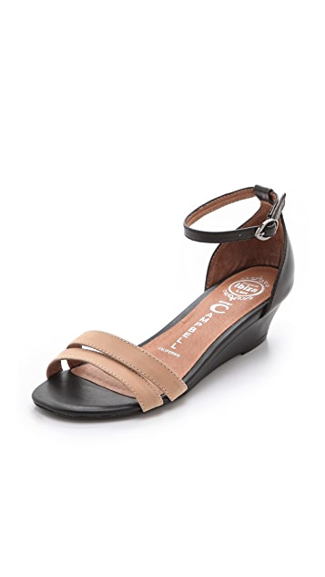 Jeffrey Campbell Pierre Wedge Sandals