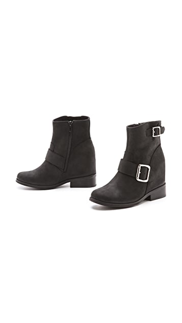 Jeffrey Campbell Willis Hidden Wedge Booties