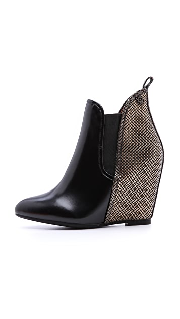 Jeffrey Campbell Harrison Wedge Booties