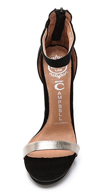 Jeffrey Campbell Burke Single Band Sandals