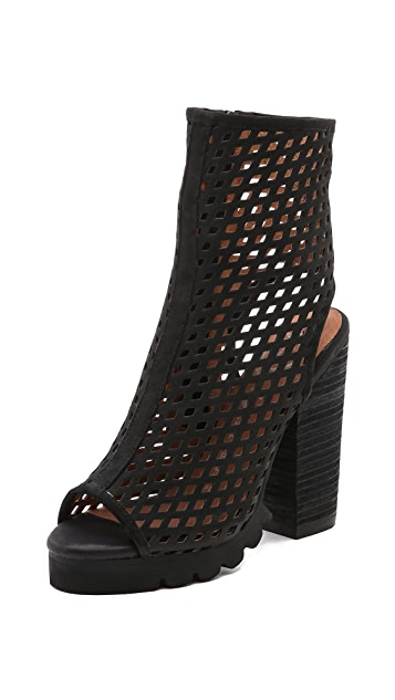 Jeffrey Campbell Chella Perforated Booties